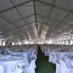 aluminium-tent