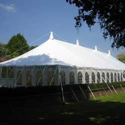 peg pole tents