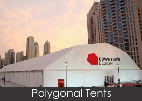 polygonal Tents for sale in Durban